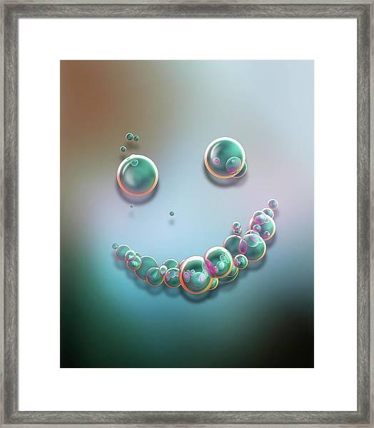 Smile 01 Framed Print