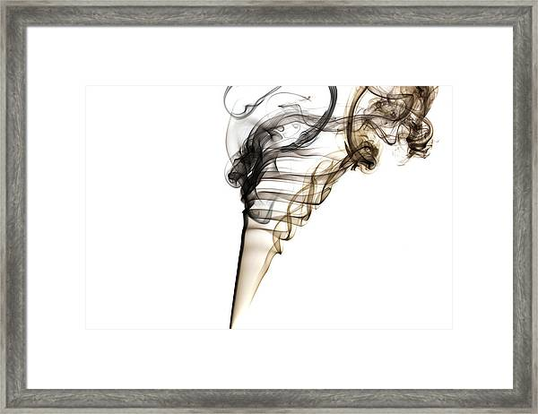 Smoke Trails Framed Print
