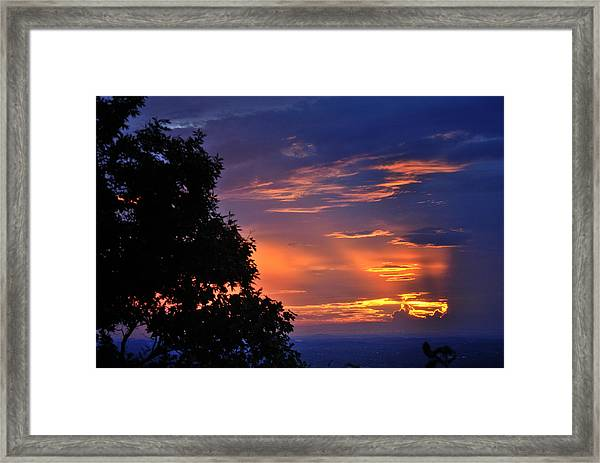 Smokies Sunset 3 Framed Print