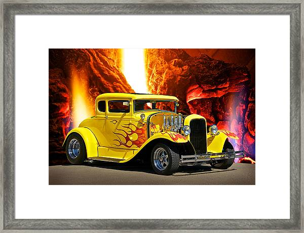 Smok'n Hot Coupe Framed Print