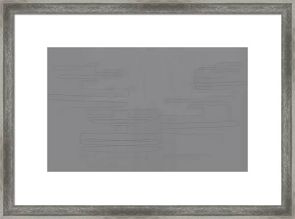 Smoky Cliff Framed Print