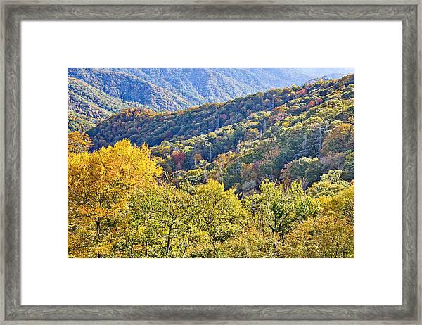 Smoky Mountain Valley Framed Print