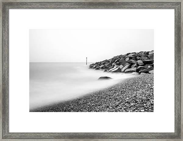 Smoky Water. Framed Print