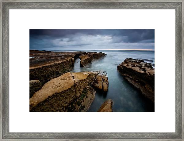 Smooth Seas Framed Print