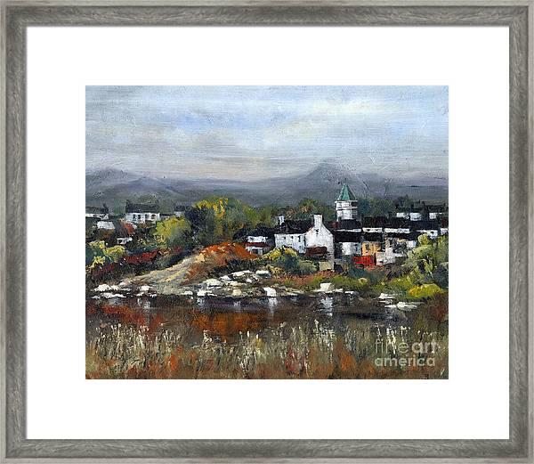 Kerry... Sneem Village  Framed Print