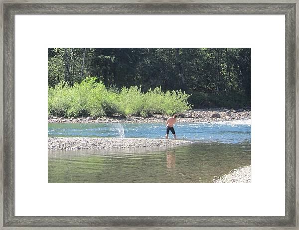 Snoqualmie River 5 Framed Print