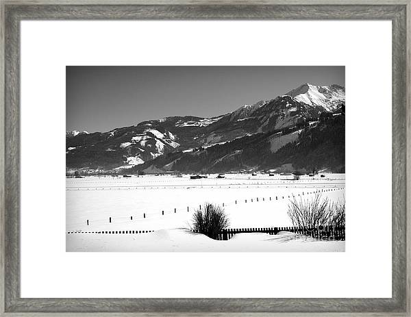 Snow In Piesendorf IIi Framed Print