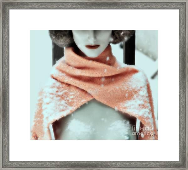 Snow White  Framed Print by Steven Digman