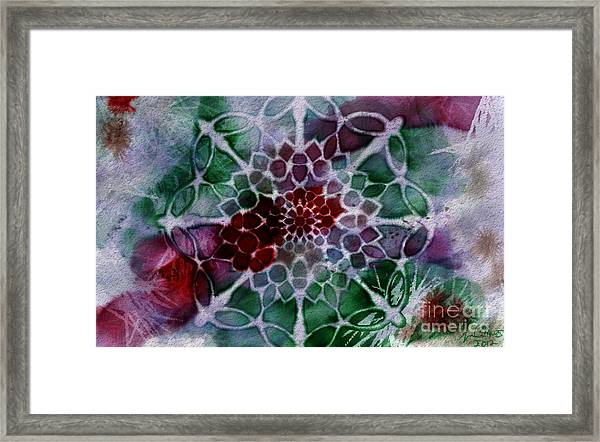 Snowflake 1 Framed Print