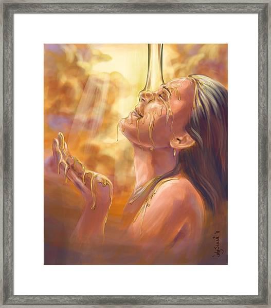 Soaking In Glory Framed Print