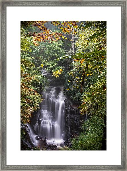 Framed Print featuring the photograph Soco Falls by Francis Trudeau