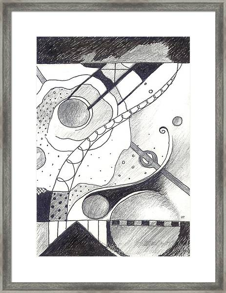 Soft Landings 1 Framed Print