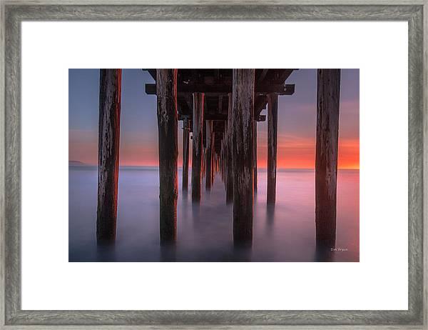 Soft Light From Starboard Framed Print
