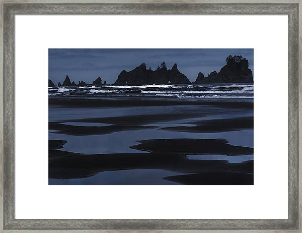 Soft Surf Framed Print