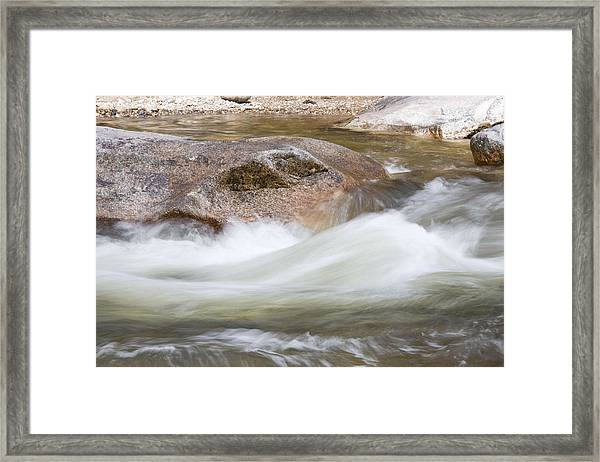 Soft Water Framed Print