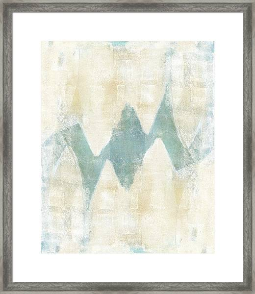 Softly Green 1 Framed Print