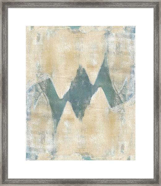 Softly Green 2 Framed Print