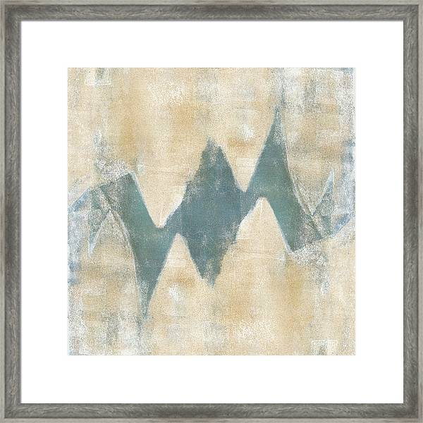 Softly Green 2 Square Framed Print