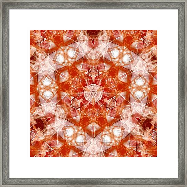 Solar Hypercube Framed Print