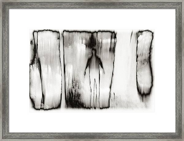 Who Am I Framed Print