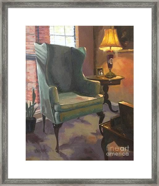 Sold- Call Of Light Framed Print