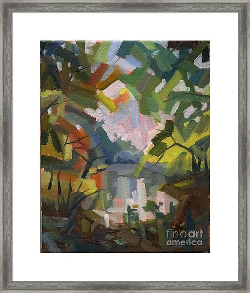 Sold Darkness Into Light Framed Print
