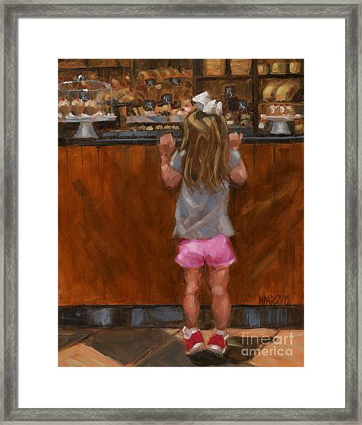 Sold - Good Golly Miss Mollie Framed Print