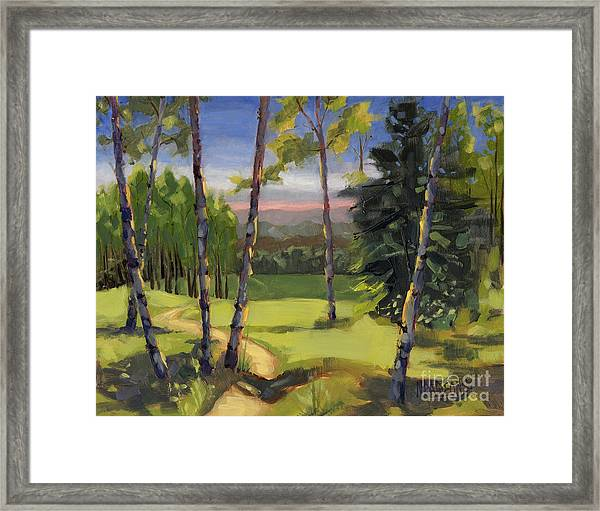 Sold - Grass Is Always Greener Framed Print