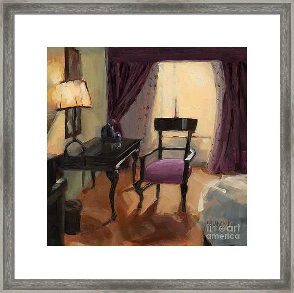 Sold - Room Service  Framed Print