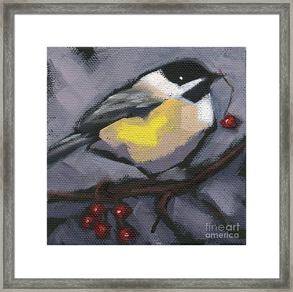 Sold Thanks-giving Bird Framed Print