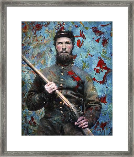 Soldier Fellow 2 Framed Print