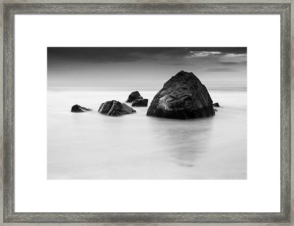 Solid And Ethereal Framed Print
