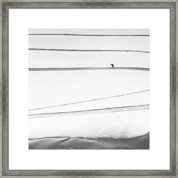 Solitary . . Framed Print by Matej Rumansky