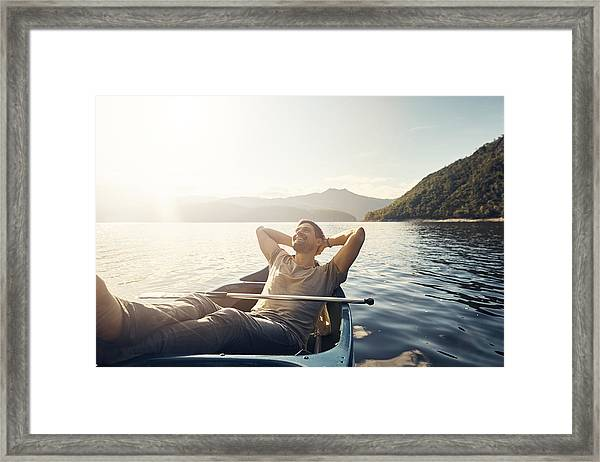 Solitude In Nature Is Bliss Framed Print by Pixdeluxe