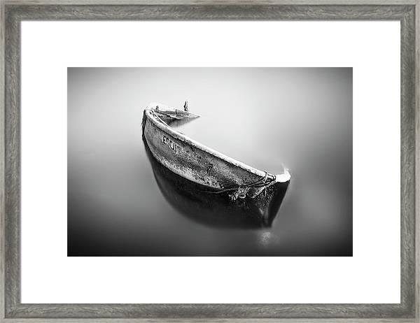 Solitude Framed Print by Miguel Valdivieso