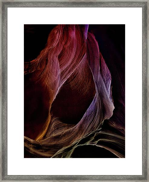Solo Journey In Earth's Womb (1) Framed Print