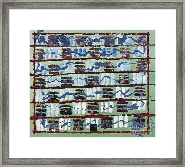 Solomon Grundy Framed Print