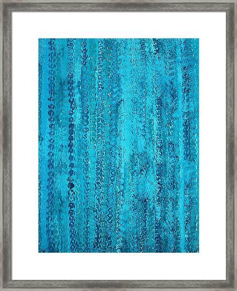 Some Call It Rain Original Painting Framed Print