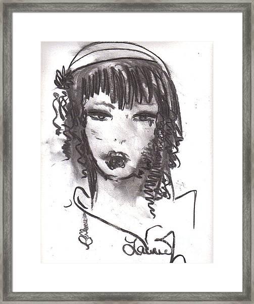 Someday In Paris Framed Print