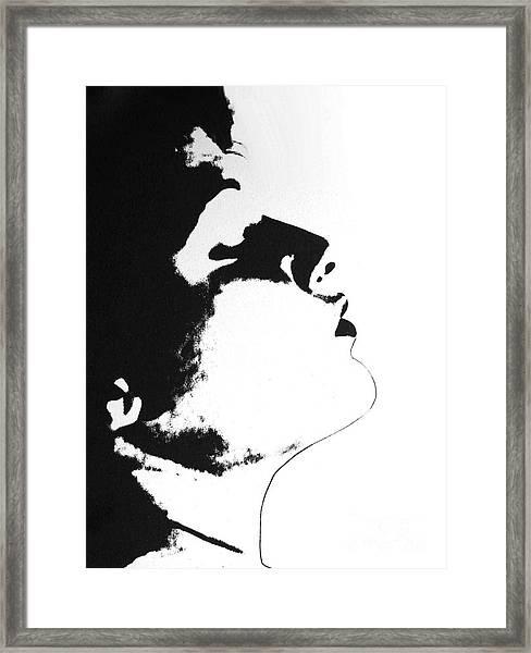 Something In Mind Framed Print