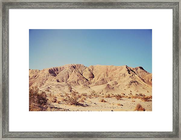 Sometimes I See So Clearly Framed Print