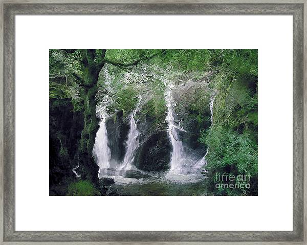 Somewhere Only We Know 2 Framed Print