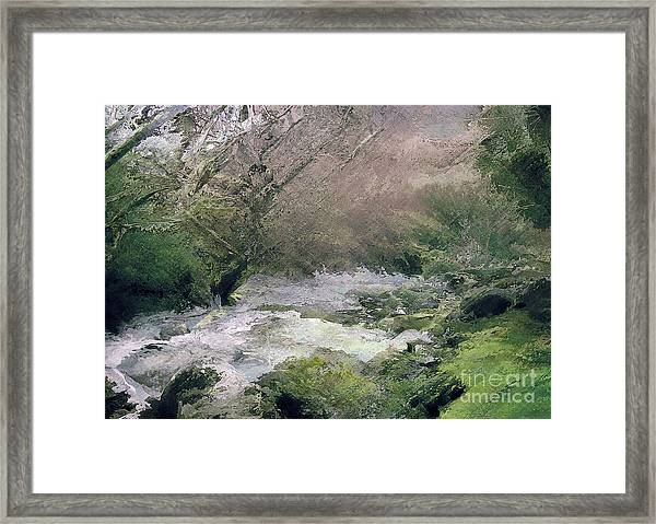Somewhere Only We Know 4 Framed Print