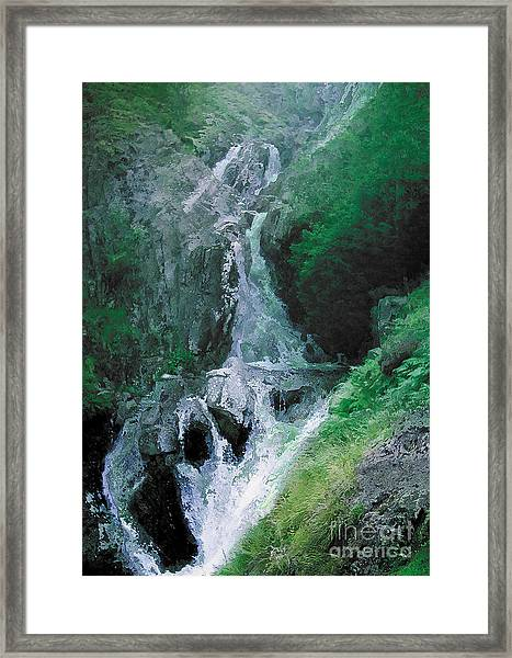 Somewhere Only We Know 6 Framed Print