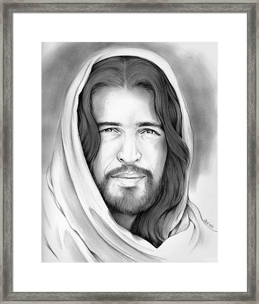 Son Of Man Framed Print