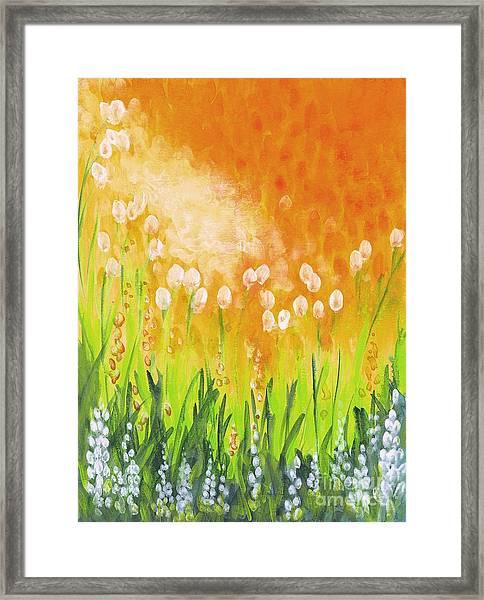 Sonbreak Framed Print