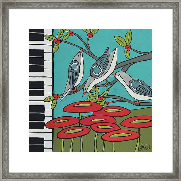 Song Birds Framed Print