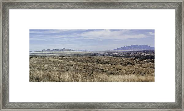 Sonoita Arizona Framed Print