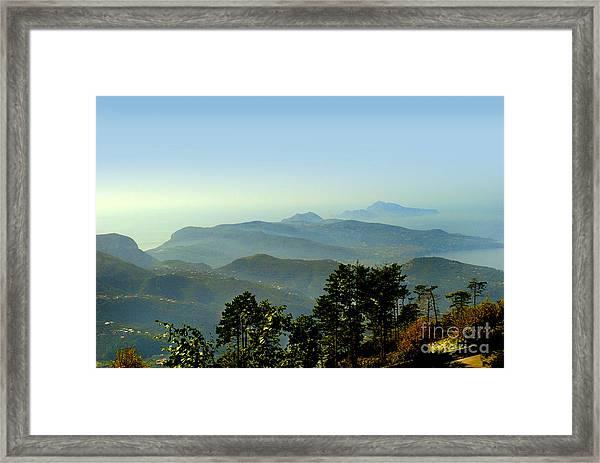 Sorrento Vista Framed Print