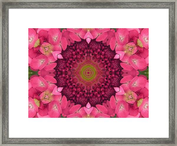 Soul Sister Mandala Framed Print